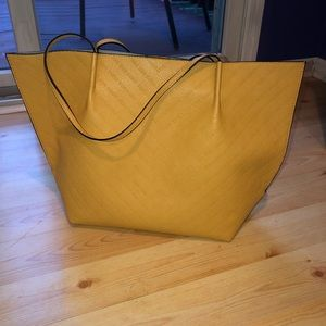 Steve Madden Yellow Tote Bag